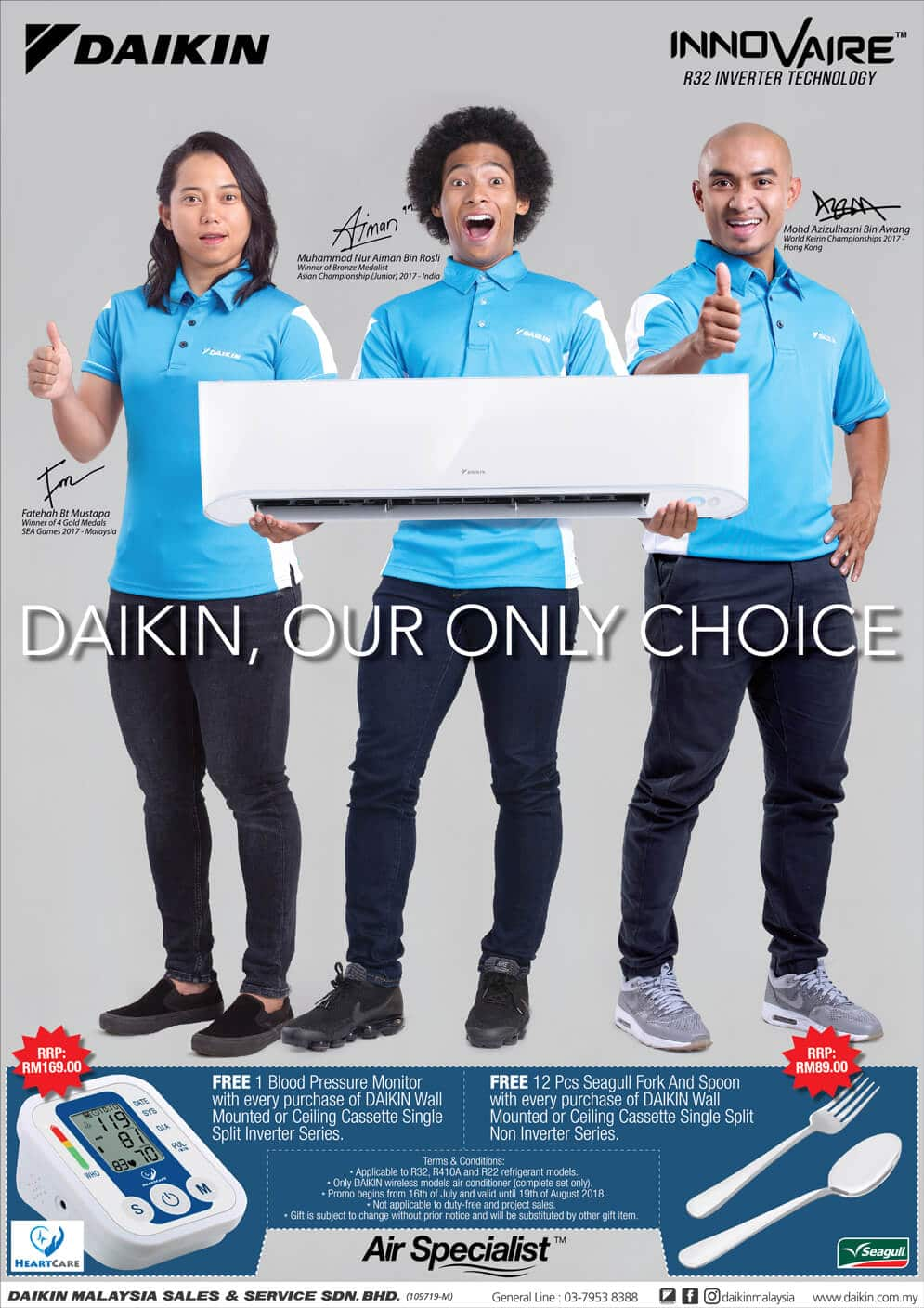 Promotion - Buy Air Conditioner and Get Free Gifts | Daikin Malaysia